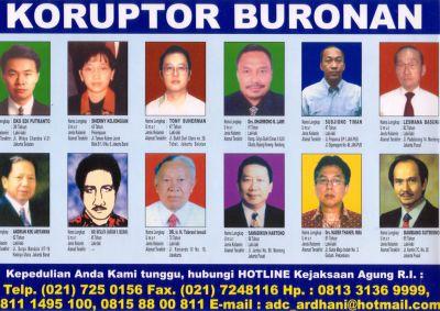 daftar koruptor