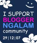 I Support Blogger Ngalam