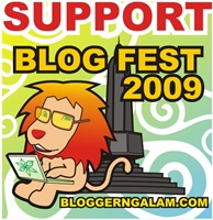 Support Blog Fest 2009 - Bloggerngalam