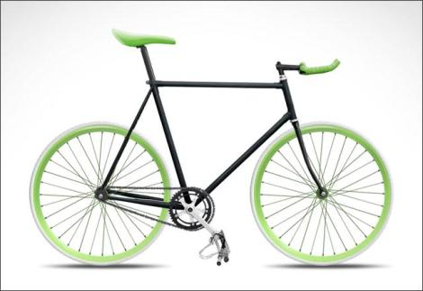 pocarisweat - get a fixie bike - earth spirit - sandynata
