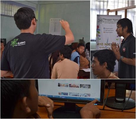 Road Show Blogging - SMK PGRI SIngosari