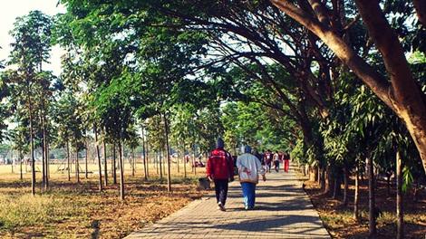 malanguklam jogging track, lapangan Rampal